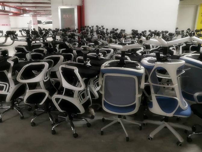 办公椅黑色网纱升降椅(200张)